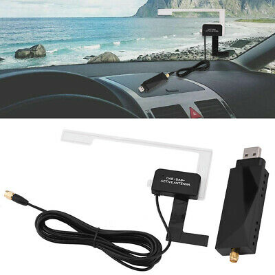 USB DAB+ Digital Radio Receiver Tuner Aerial Antenna For Car Android Head Unit • 17.99£