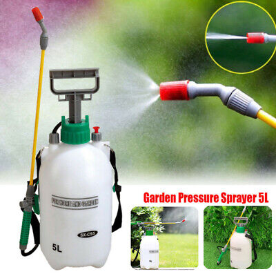5L Portable Chemical Sprayer Pump Pressure Garden Water Spray Bottle Handheld • 9.99£