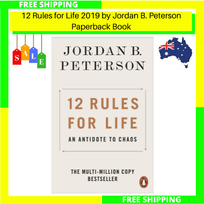 AU13.93 • Buy NEW 12 Rules For Life 2019 By Jordan B. Peterson Paperback Book | FREE SHIPPING