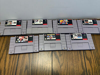 $ CDN60.27 • Buy 7 Snes Game Lot , All Authentic