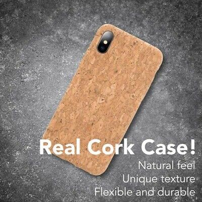 Vegan Wooden Cork Case Cover For IPhone 7/8 XR IPhone X XS MAX IPhone 11 Pro Max • 6.99£