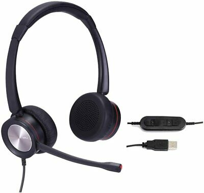 Skype Headsets With Microphone USB Conference Headset Top Duo  • 76.09£