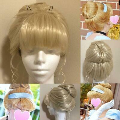 Cinderella Custom Wig D Halo Fancy Dress Disney Halloween Princess Size Nan • 267.25£