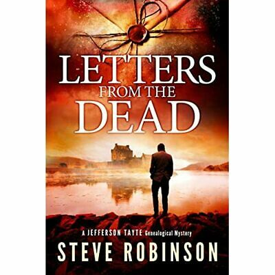 Letters From The Dead (Jefferson Tayte Genealogical Mys - Paperback NEW Robinson • 10.16£