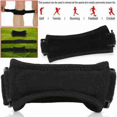 Patella Tendon Strap Knee Support Adjustable Jumpers Runners Pain Band Brace NHS • 3.89£