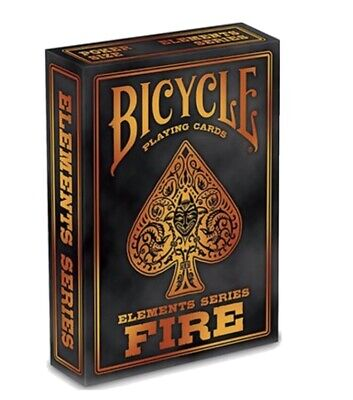 £6.18 • Buy Bicycle Fire Playing Cards Poker Deck UK 🇬🇧 SELLER NEW SEALED