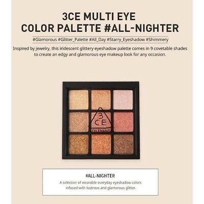 AU78 • Buy 3CE Multi Eye Color Palette #All Nighter