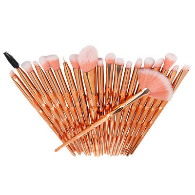 AU23.69 • Buy 20PCS Unicorn Makeup Brushes Set Blush Eye Shadow Eyeliner Eyebrow Lip Brush Kit