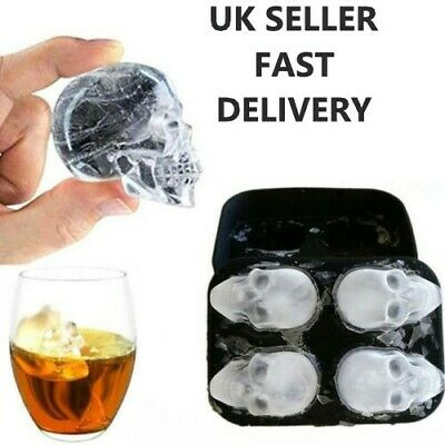 Ice Cube Tray Ball Maker Mold SphereRound Whiskey Mould Tool DIY • 6.43£