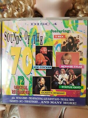'sounds Of The 70's- Disc 4- 18 Songs- Cd- Brill!!!!!!!!!! • 1.50£