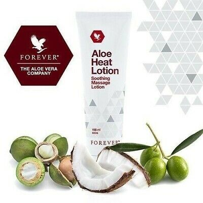 £12.49 • Buy Forever Living Aloe Heat Lotion Soothing Massage - 118ml