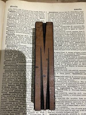 Vintage Printers Block Letterpress Wooden Printing Tall 10 Cm Letter M • 6.50£