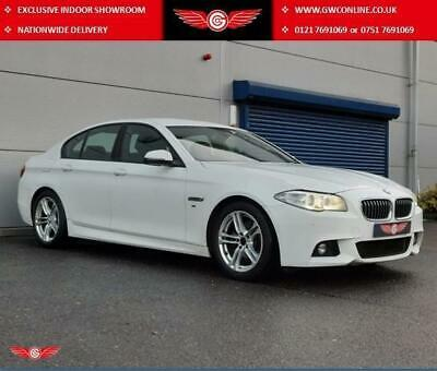 2013 BMW 5 Series 520d M Sport 4dr Px Swap SALOON Diesel Manual • 9,989£