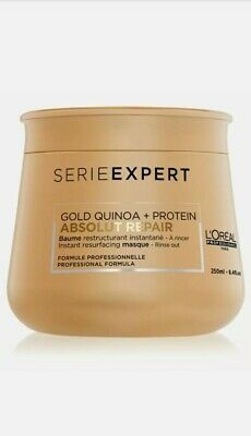 L'Oreal Serie Expert Absolut Repair 250ml Mask With Gold Quinoa + Protein • 12.45£