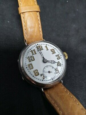 £1000 • Buy Trench Watch Circa 1920s With Rare Historical Inscription