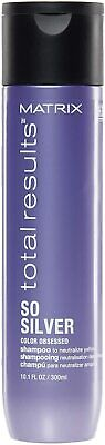 £12.52 • Buy Matrix   Total Results   So Silver   Toning Purple Shampoo   For Blondes, Greys
