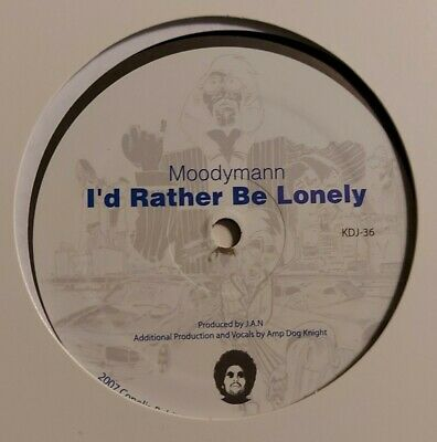 Moodymann - I'd Rather Be Lonely 12  Kdj 36 Kdj 2007 Nm! • 19.19£