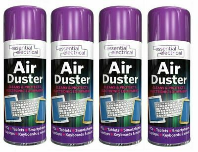 200ml Compressed Air Duster Dust Blower Laptop PC Keyboard Mobile 1 Can To 4 Can • 8.99£