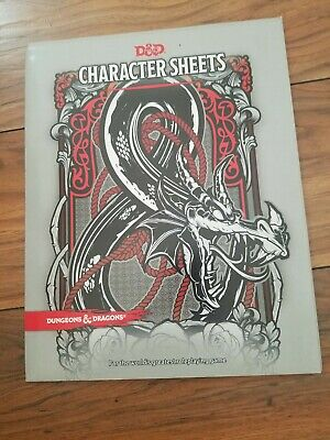 AU19.13 • Buy Dungeons & Dragons 5th Edition Character Sheets