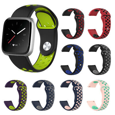 $ CDN4.78 • Buy For Fitbit Versa / LITE Watch Band Replacement Silicone Bracelet Wrist Strap S/L
