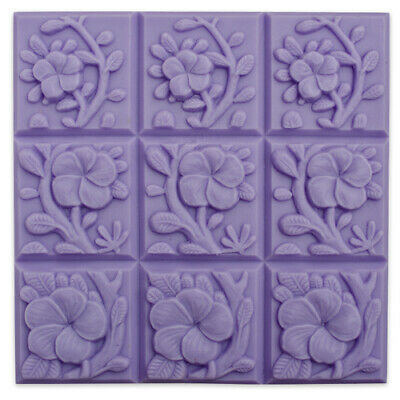 $8.99 • Buy Tropical Vines Tray Soap Mold By Milky Way Molds - MW04