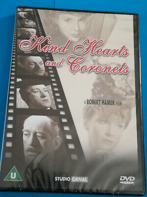 Sealed New Dvd Kind Hearts And Coronets • 2.99£