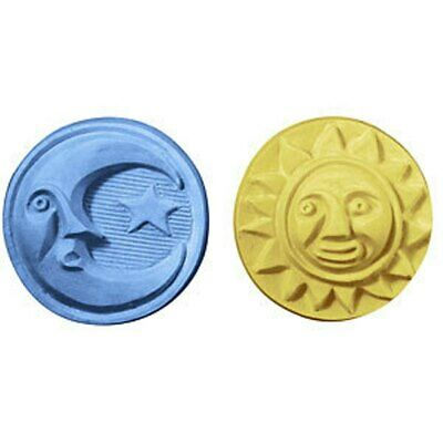 $8.99 • Buy Sun & Moon Guest Soap Mold By Milky Way Soap Molds