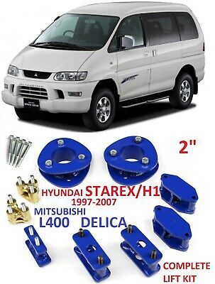 AU416.86 • Buy Lift Kit For Mitsubishi Delica L400 Space Gear Hyundai Starex H1 2  50mm Spacers
