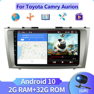 AU251.99 • Buy 2 Din Android 10.0 Head Unit For Toyota Camry Aurion Car Stereo GPS AU MAP 9In