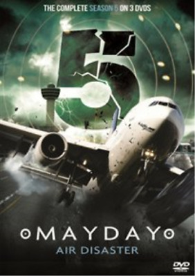 Mayday Air Disaster: The Complete Season 5 DVD NEW • 15.44£