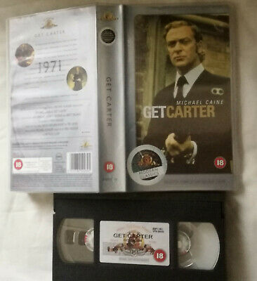 GET CARTER VHS Small Box • 2.99£