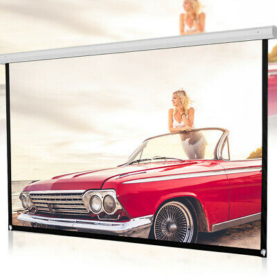 AU22.60 • Buy 72inch HD Projector Screen 16:9 Home Cinema Theater Projection Portable Screen