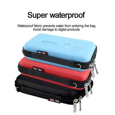 AU14.09 • Buy Electronics Organizer Waterproof Travel Storage Bag For Cable Power Bank Tablet