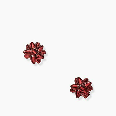 $ CDN37.30 • Buy NWT Authentic Kate Spade Bourgeois Bow Red Studs