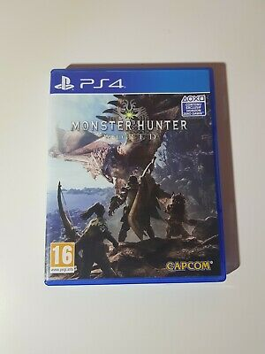 AU20.15 • Buy Monster Hunter World - PlayStation 4 (Ps4)