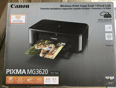 View Details ⭐️ SHIPS FREE ⭐️ Canon PIXMA MG3620 Wireless Inkjet All-In-One Printer WITH INK • 79.00$