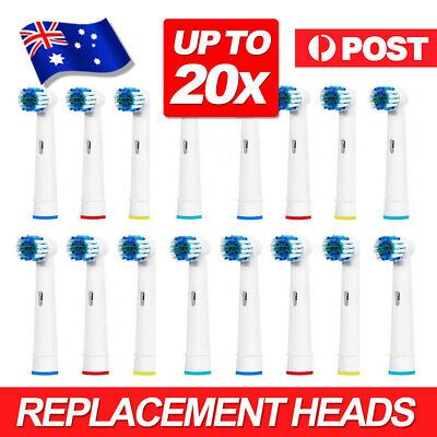 AU15.99 • Buy 4-20pcs Electric Toothbrush Replacement Heads For Oral B Braun Models Series AU