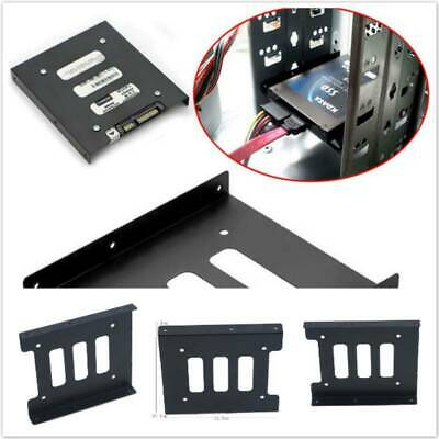 AU4.07 • Buy 2.5  To 3.5  SSD HDD Metal Adapter Mounting Bracket Hard Drive Holder L