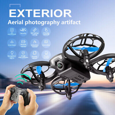AU44.99 • Buy Drone RC Quadcopter Hand Operated Toy 4DV8 Remote Control Altitude For Kids