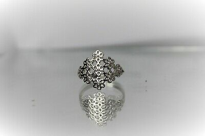 925 Solid Silver Ladies Ring UK Hand Finished All Size Available From L To Z+4 • 18£