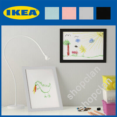 IKEA Fiskbo Photo Frame - Various Sizes Black White Pink Picture Hanging Poster • 4.90£