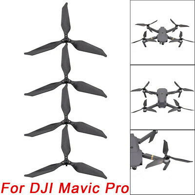 AU41.60 • Buy Low-Noise Advanced Full Carbon Fiber Propellers 3-Blade For DJI Mavic Pro Drone
