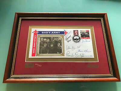 £250 • Buy Dads Army First Day Cover 30th Anniversary Ltd Edition Clive Dunn Cast Signed