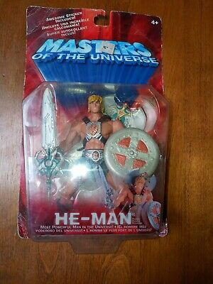 $34.99 • Buy 2001 2002 Masters Of The Universe: He-Man MOC MIB Vintage 200x