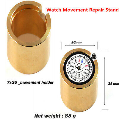 AU21.92 • Buy Brass Watch Movement Holder For 7S26 7S36 Movement Modding Repair Tool Kit