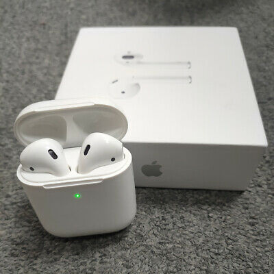 AU135.99 • Buy Apple AirPods With Wireless Charging Case 2nd Generation AU Post