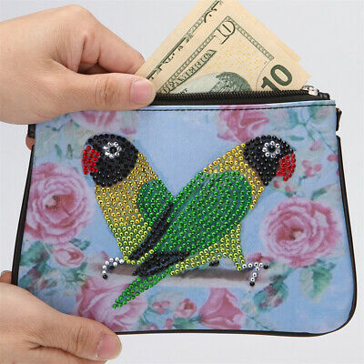 £5.29 • Buy 5D Diamond Painting Clutch Bag Wallet Purse DIY Craft For Women Fashion UK