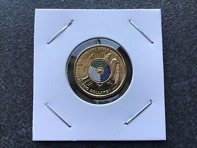 AU6.95 • Buy UNC 2020 75th Anniversary The End Of WW2 $2 Dollar Coin