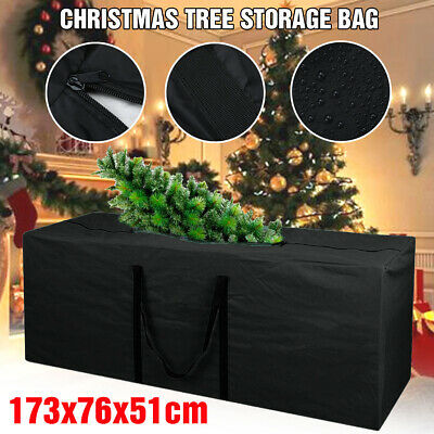 Christmas Tree Decoration Lights Zip Up Sack Storage Bag For Xmas Trees New Uk • 10.88£