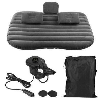 Car Inflatable Bed Back Seat Mattress Airbed For Rest Sleep Travel Camping • 18.19£